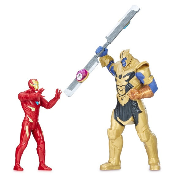 Marvel Avengers Iron Man & Thanos Set