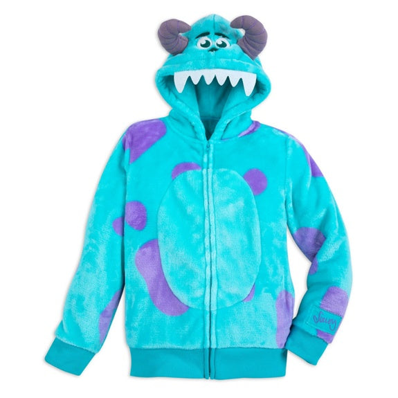 Monsters Sulley Costume Zip Hoodie