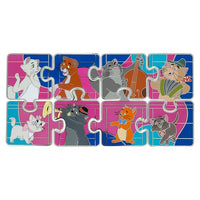 Aristocats Puzzle Mystery Pin