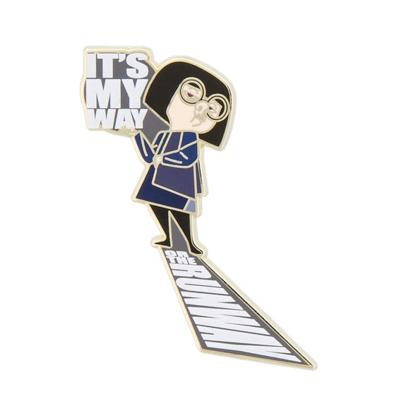 The Incredibles Edna Pin