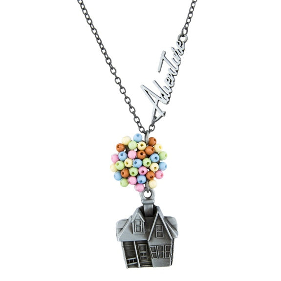 Up House & Balloons Necklace