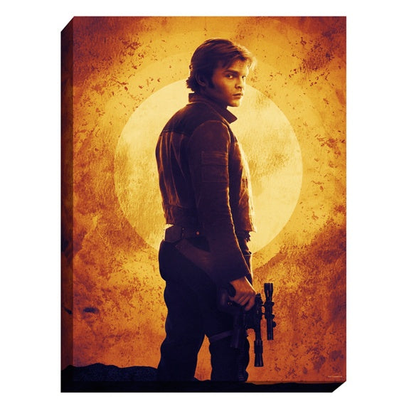 Star Wars Han Solo Light-Up Canvas