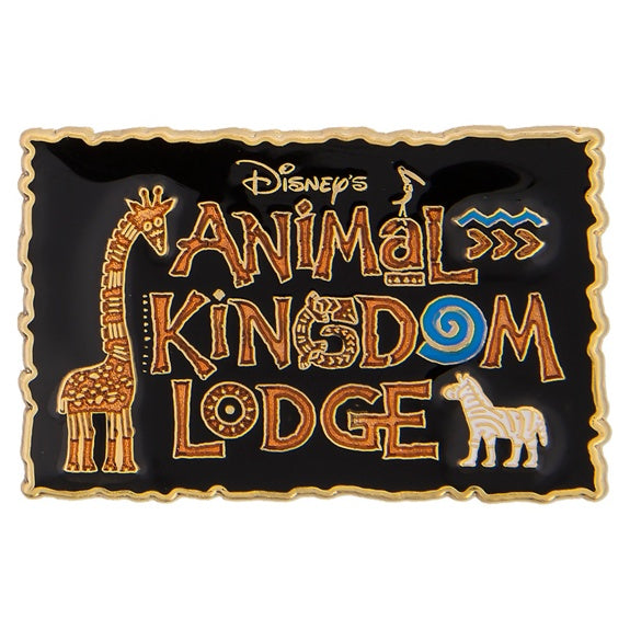 Disney's Animal Kingdom Lodge Pin