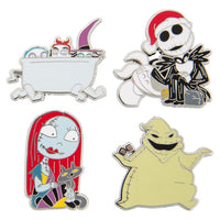 The Nightmare Before Christmas Pin Set