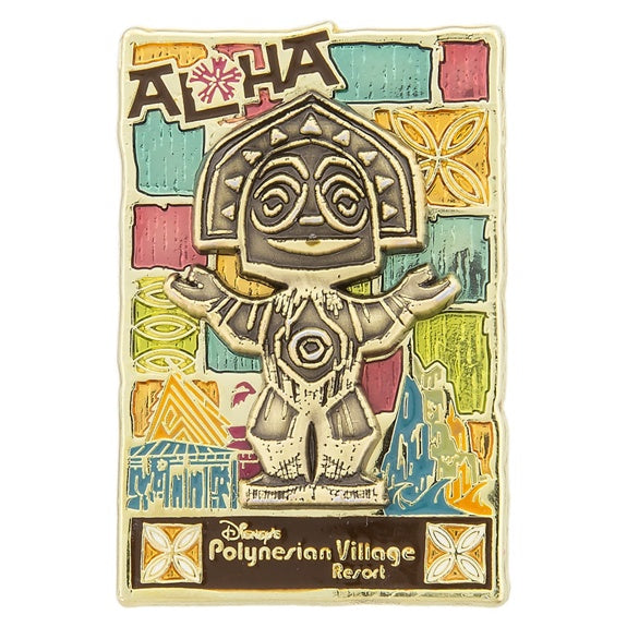 Disney's Polynesian Village Aloha Pin