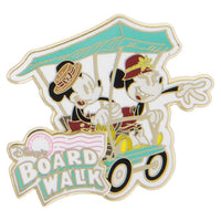 Disney's Board Walk Mickey & Minnie Pin