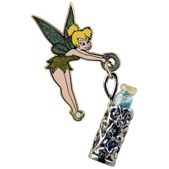 Tinker Bell with Pixie Dust Vial Pin