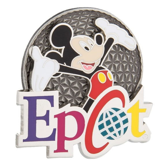 Epcot Spaceship Earth Mickey Pin