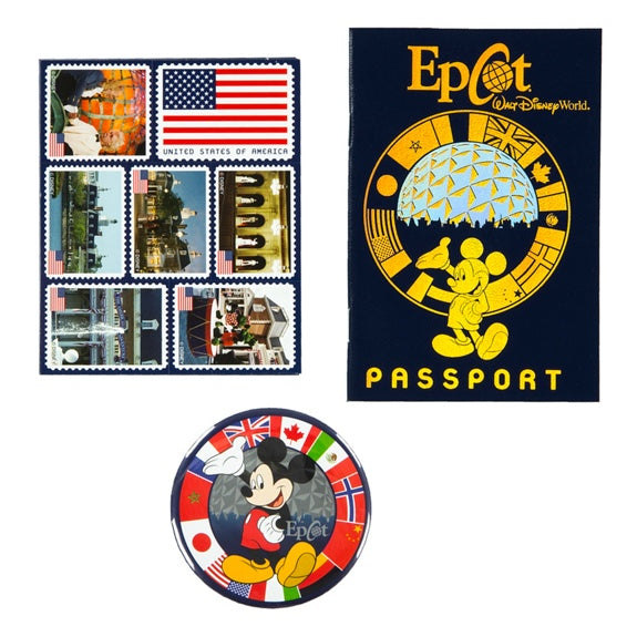 Epcot World Showcase Passport Kit