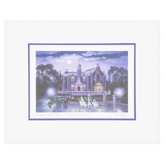 Haunted Mansion Print 8x10 by Dotson