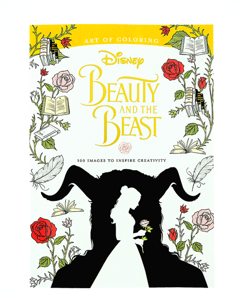 Disney's Art of Coloring Book Beauty & The Beast