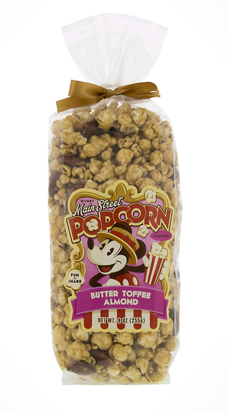 Disney Parks Main Street Butter Toffee Almond Popcorn