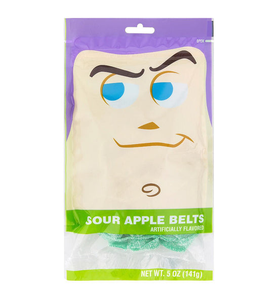 Disney Parks Sour Apple Belts- Buzz Lightyear From Toy Story