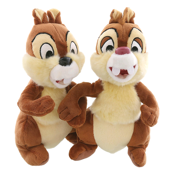 Disney Parks Chip And Dale Bean Bag Plush