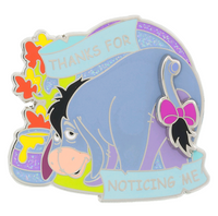 Disney Parks Eeyore Thanks For Noticing Me Pin