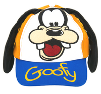Goofy With Ears Baseball Cap- Youth