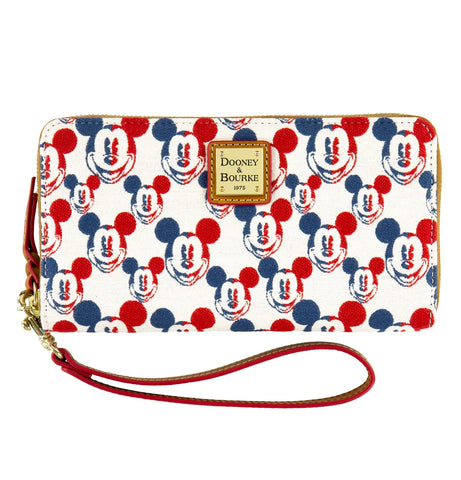 Mickey Mouse Americana Wallet by Dooney & Bourke