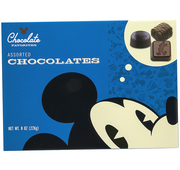 Disney Parks Mickey Assorted Chocolates 8oz