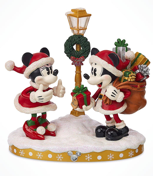 Disney Parks Turn of the Century Light-Up Figurine