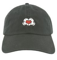Mickey Hands with Heart Baseball Cap- Adults
