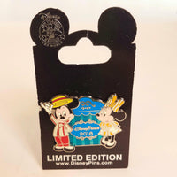 Disney Parks Limited Edition 2016 Mickey & Minnie Pin