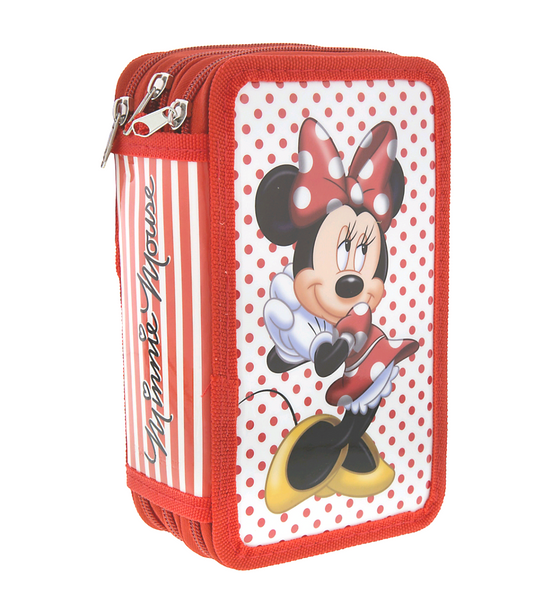 Disney's Minnie Dot Zip Up Stationery Kit
