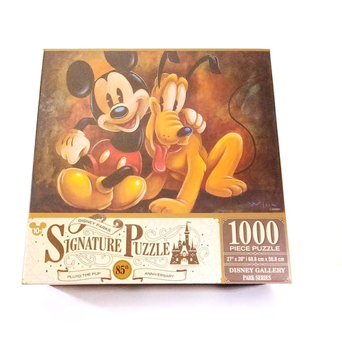 Disney Parks Mickey & Pluto 85th Anniversary Signature Series