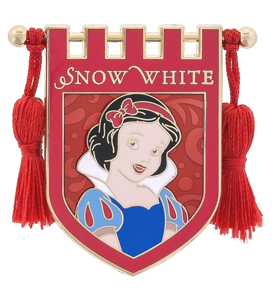 Disney's Snow white Banner Tassel Pin