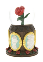 Disney Parks - Beauty and the Beast Rose Musical Snow Globe