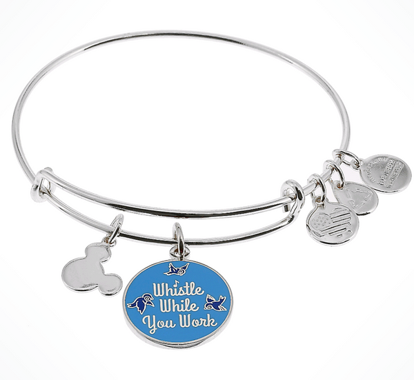 Whistle While you Work Bangle by Alex & Ani