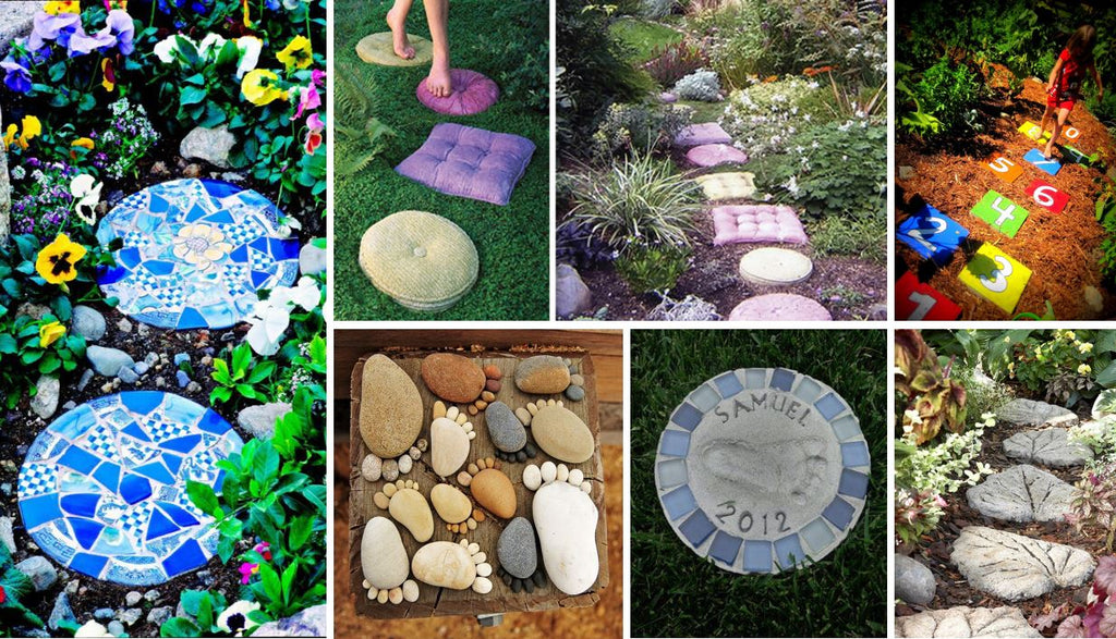 Awesome DIY Stepping Stone Ideas for Your Garden