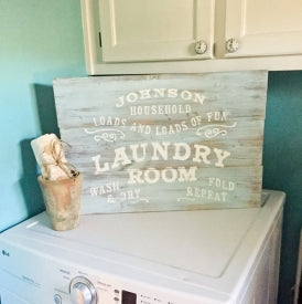 Pretty Laundry Room Makeover Ideas