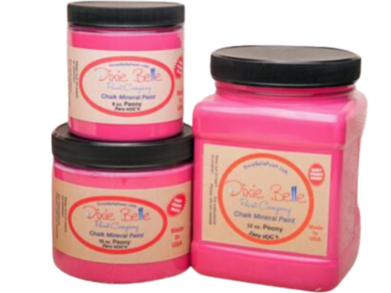 Dixie Belle Chalk Paint Peony - FREE BRUSH! - Funkie Junkies Marketplace