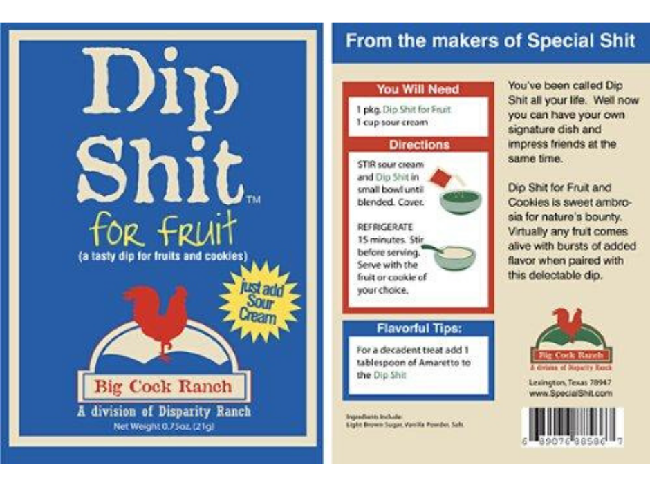 Dip Shit for Fruit - Funkie Junkies Marketplace