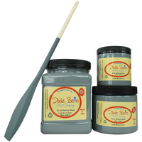 Dixie Belle Stormy Seas Chalk Mineral Paint-FREE BRUSH!