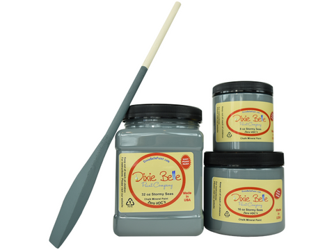 Dixie Belle Chalk Paint Stormy Seas- FREE BRUSH!