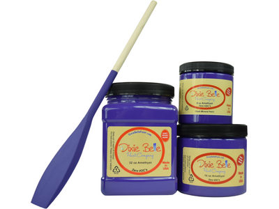 Dixie Belle Amethyst Chalk Mineral Paint - FREE BRUSH!