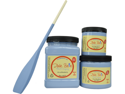 Dixie Belle Chalk Paint Blueberry - FREE BRUSH! - Funkie Junkies Marketplace