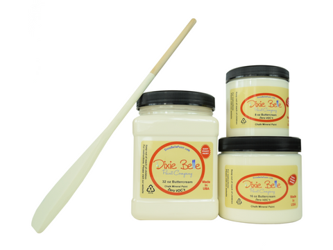 Dixie Belle Chalk Paint Butter Cream - FREE BRUSH!