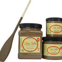 Dixie Belle Chocolate Chalk Mineral Paint- FREE BRUSH!