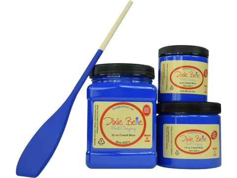 Image of Dixie Belle Cobalt Blue Mineral Paint - FREE BRUSH! - Funkie Junkies Marketplace