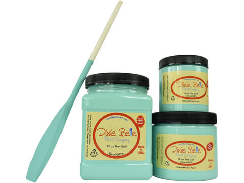 Dixie Belle Chalk Paint The Gulf- FREE BRUSH! - Funkie Junkies Marketplace