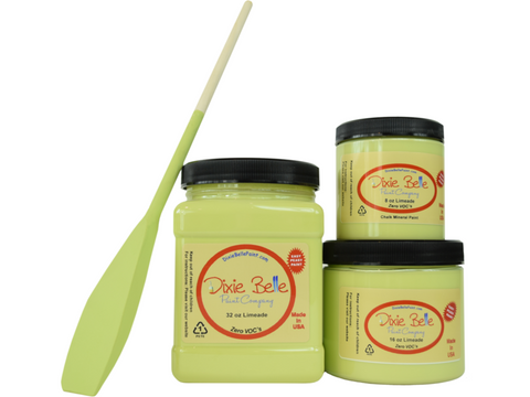 Image of Dixie Belle Limeade Mineral Paint - FREE BRUSH!