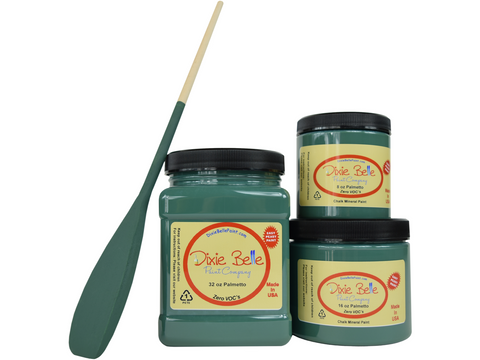Dixie Belle Chalk Paint Palmetto - FREE BRUSH! - Funkie Junkies Marketplace