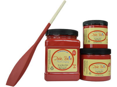 Dixie Belle Barn Red Chalk Mineral Paint-FREE BRUSH!