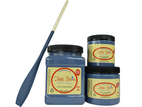 Image of Dixie Belle Chalk Paint Yankee Blue- FREE BRUSH!