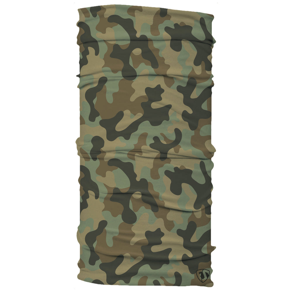 original green brown black hunting OG camo neck gaiter