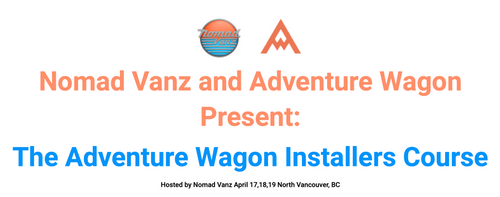 Adventure Wagon Installer Course