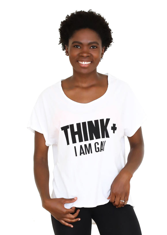 Think+ Round Neck Hi-Lo Tee1