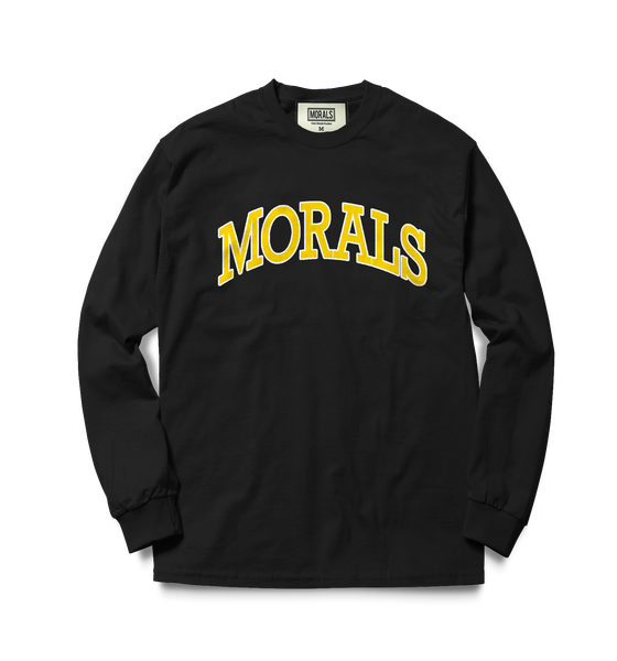 """Morals"" University Long Sleeve Tee"